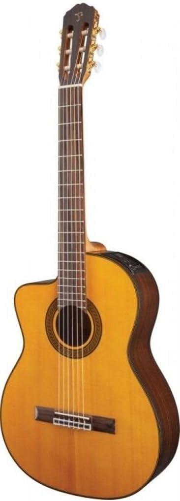 TAKAMINE Lefty gc5celh-nat eléctrico acústica clásica Cutaway Guitarra