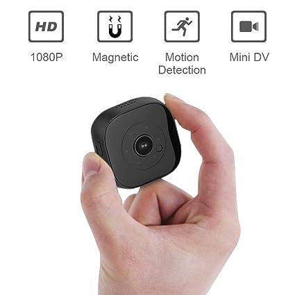 YAMEIJIA Mini cámara espía, 1080P HD Cámara Oculta WiFi Cámara de vigilancia inalámbrica de Seguridad