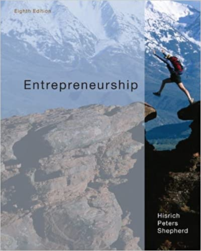Entrepreneurship robert hisrich michael peters dean shepherd entrepreneurship 8th edition fandeluxe Choice Image