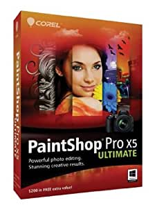 PaintShop Pro X5 Ultimate [Old Version]