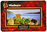 Walkers Shortbread Glories Of Scotland Keepsake Tin, 8.8 Ounce