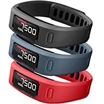 SKYLET Colorful Fitness Replacement bands for Garmin Vivofit(No Tracker)