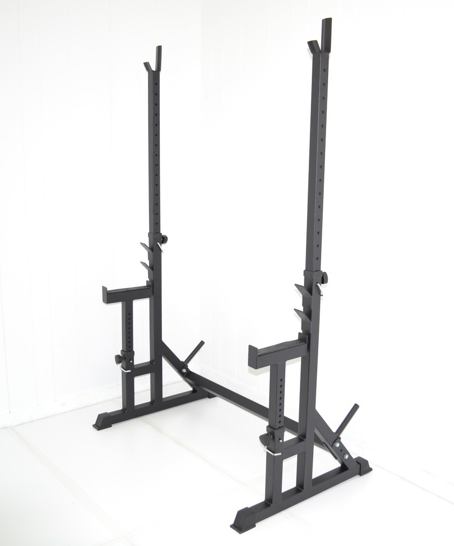 Atlas Squat Rack with Bench Press Safety Stands