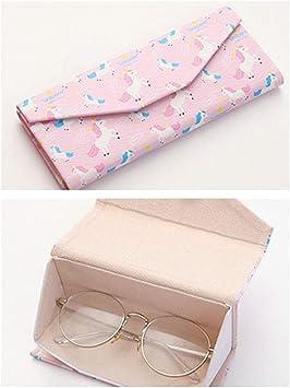 InterestPrint Saint Patricks Day Foldable Glasses Case Eyeglass Cases Sunglasss Boxes for Men Women
