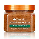 Tree Hut Sugar Scrub Mocha & Coffee Bean, 18oz, Ultra Hydrating and Exfoliating Scrub for Nourishing Essential Body Care
