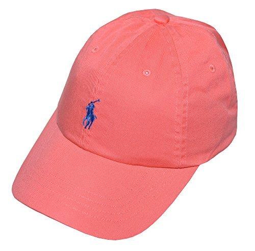 Polo Ralph Lauren Men's Pony Logo Hat Cap Fiery Coral