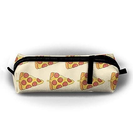 Estuche de lápices Queso Pizza Bolsa de lona Estuche con ...