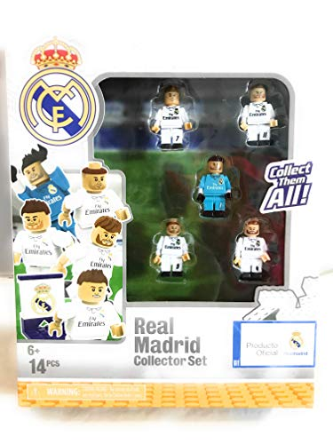The Bridge Direct Real Madrid Soccer Team Buildable Figures Collector Set