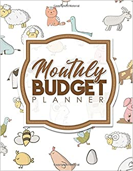 monthly budget planner bill paying notebook household budget