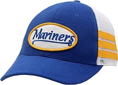 Seattle Mariners Snapback Hat Script 2-Tone Mesh 11575
