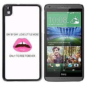 Dragon Case - FOR HTC DESIRE 816 - only to rise forever - Caja protectora de pl??stico duro de la cubierta Dise?¡Ào Slim Fit