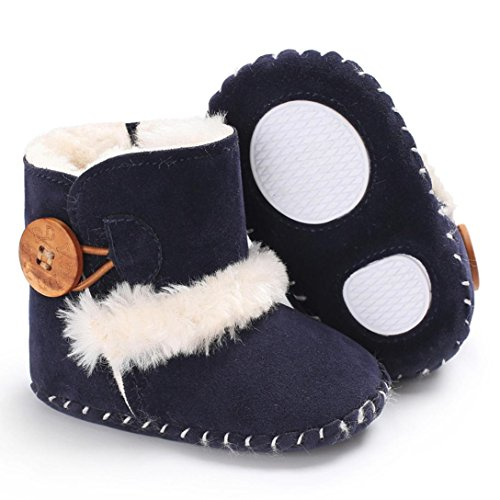 Dreamyth Cute Boy Girls Baby Soft Sole Snow Boots Soft Crib Shoes Toddler Boots New