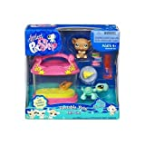 Littlest Pet Shop Exclusive Fanciest Portable Gift Set Brown Mouse and Turtle, Baby & Kids Zone