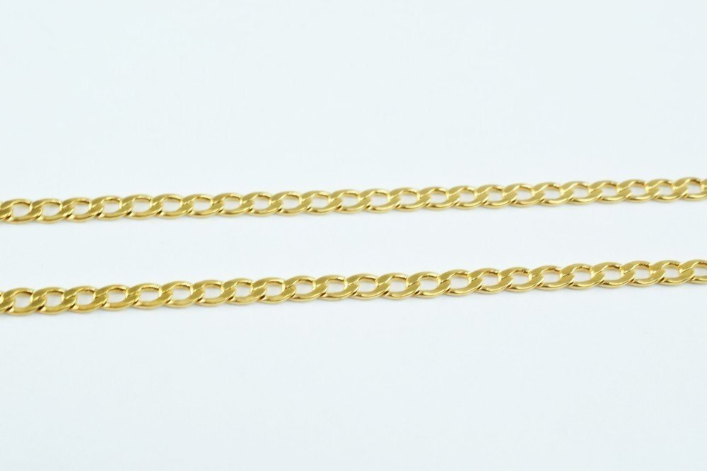 New Gold Filled Chain 18K Size 2mm for Jewelry Making GFC43 Sold by Foot (1FOOT) China