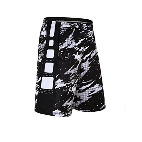 iKRR Men's Mesh Basketball Athletic Loose Training Workout Sports Shorts with Pockets – DiZiSports Store