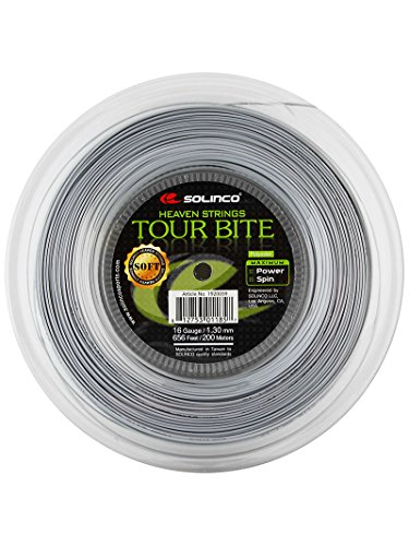 Solinco Tour Bite Soft Tennis String - String 16l Soft