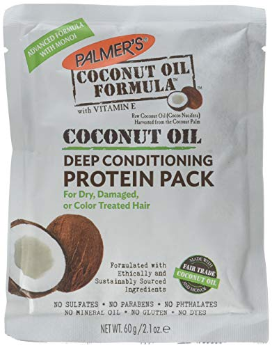 Palmer's Coconut Oil Deep Conditioning Protein - 2.1 Ounce (Pack of 2) (Best Homemade Hair Mask For Colored Hair)