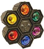 Global Gizmos Disco Light 6-in-1 Voice and Sound Reactive