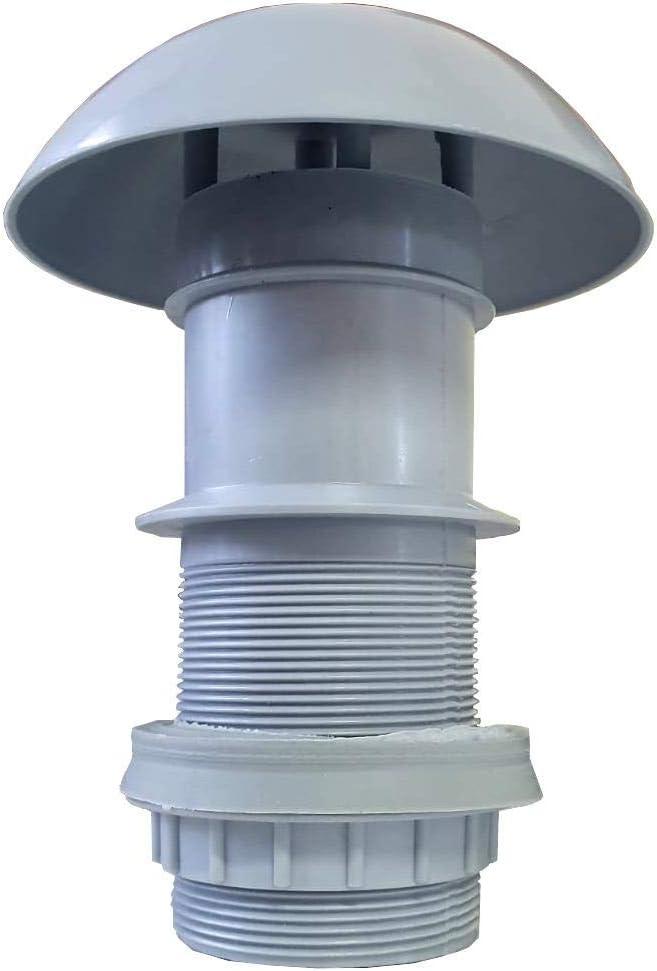 Lux - Chimenea para estufa de caravana con junta de agujero de 60 mm de diámetro: Amazon.es: Coche y moto