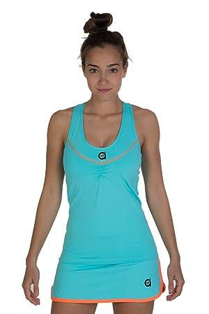 a40grados Sport & Style, Camiseta Cuento Celeste, Mujer, Tenis y ...