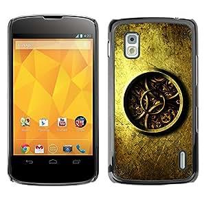 "For LG Nexus 4 E960 , S-type Detalladas Mecánica Reloj Reloj"" - Arte & diseño plástico duro Fundas Cover Cubre Hard Case Cover"