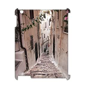 ALICASE Diy Cover Custom Case Road For IPad 2,3,4 [Pattern-1]
