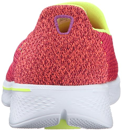 Lime Multicolore Femme Walk 4 Kindle Pklm pink Skechers Basses Go qvTYx8w