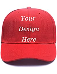 Custom Personalized Adjustable Baseball Cap Design Photo or Your Own Custom Text