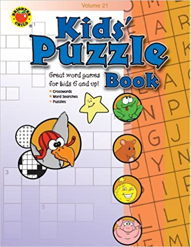 photograph regarding Eugene Sheffer Crossword Puzzle Printable called Small children Puzzle Reserve Sum 21 (Brighter Youngster: Small children Puzzle