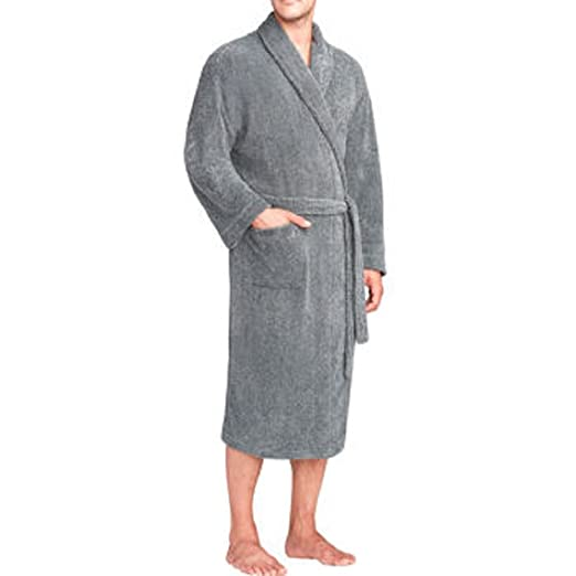 09c2f92533 Image Unavailable. Image not available for. Color  Majestic Men s Fleece  Robe ...