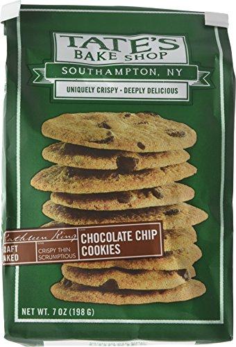 Tate's Bake Shop- Chocolate Chip Cookies, 7 Ounce, (Pack of 2)