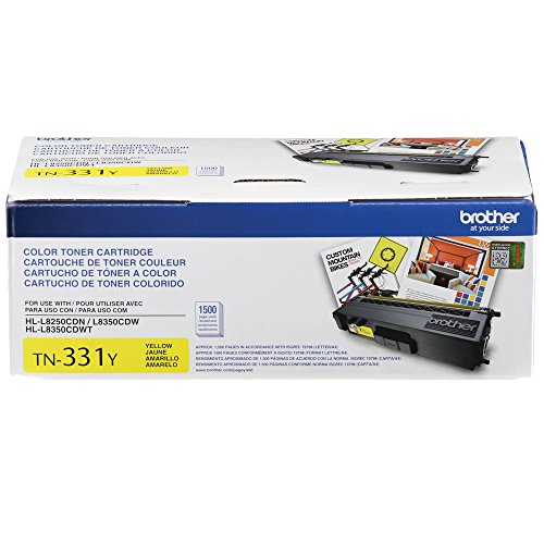Brother HL-L8250CDN Yellow Original Toner Standard Yield (1,500 Yield)
