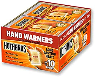 product image for HotHands Hand Warmers - Long Lasting Safe Natural Odorless Air Activated Warmers - Up to 10 Hours of Heat - 40 Pair (80 Pair)