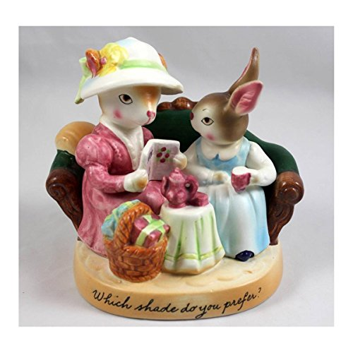 (Avon 1980 Precious Moments Collection Which Shade Do You Prefer Sales Award Figurine)