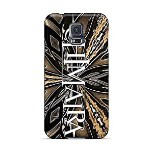 Shock Absorbent Hard Phone Case For Samsung Galaxy S5 (mkL1656fMov) Customized Nice Chimaira Band Skin