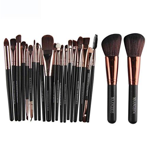 Makeup Brushes Set, Kingfansion Face Eyeliner Blusher Foundation Brush for Powder Liquid Cream