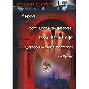 Horror Classics, Vol. 8: Don't Look in the Basement!/House on Haunted Hill/The Sphinx/Werewolf in a Girl's Dormitory