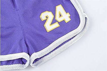 FILWS Jersey De Baloncesto para Ni/ños Traje Ni/ño Jersey De Verano Kobe Bryant Ni/ños Beb/é Juego Jersey Entrenamiento Ropa