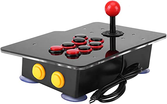 Arcade Fight Stick Games Machine with USB for PC Home #3 Joystick Zero Delay Classical Game Controller