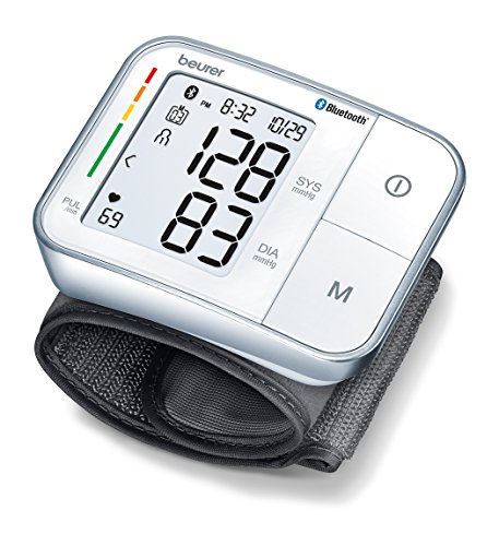 Beurer North America Bluetooth Smart Wrist Blood Pressure Mo