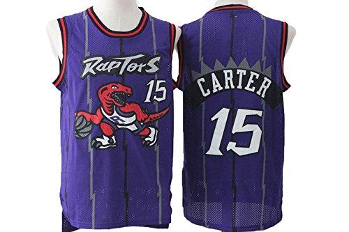 Purple Retro Jerseys Toronto Raptors Vince Carter #15 - Mens XL