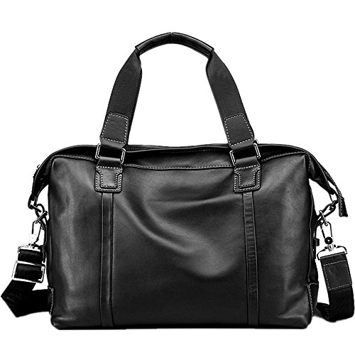Business Notebook Briefcase Briefcase Vintage Bags Computer Leather Satchel Leather For Suitable First Business Qi Layer Bag Men's Men's Tote Casual Tx5SUTPCwq