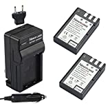 Newmowa EN-EL9 Battery (2-Pack) and Charger kit for Nikon D3000, D5000, D40, D60, D40X
