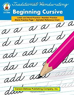 Traditional Handwriting: Beginning Cursive Grades 1 - 3