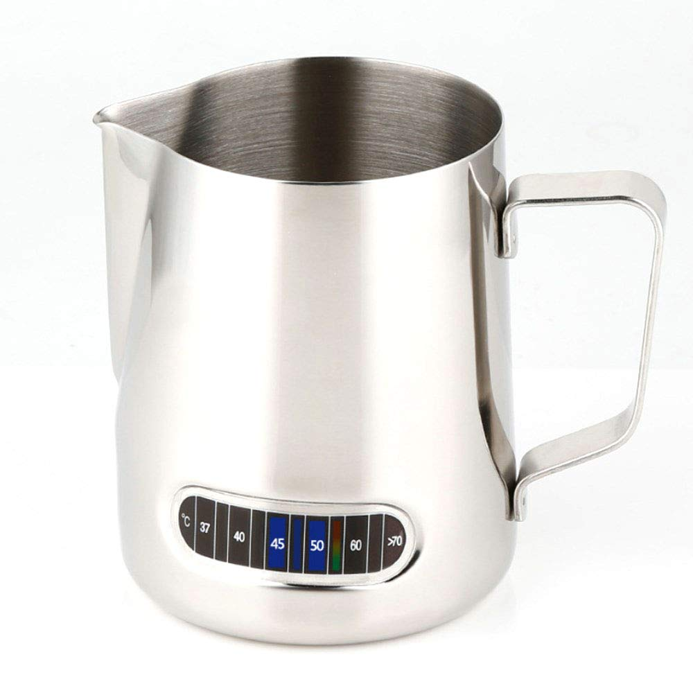 Ss Stainless Steel Milk Frothing Pitcher 20oz Perfect for Espresso Machines, Milk Frothers, Latte Art