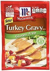 McCormick Turkey Gravy Mix, Gluten Free,...