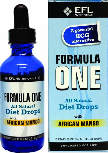 FORMULA ONE TM All Natural Diet Drops with African Mango. For use with the Formula One Diet Plan, Includes Allowable Foods List, Basic Diet Instructions Guide & Our Top Rated Customer Service. - 2FL oz (Best Crash Diet Plan)