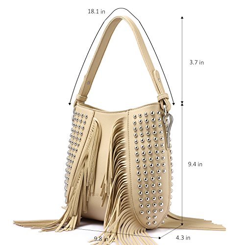 Bag Bag Tote Women Zip Satchel Shoulder Set 3 Top for red Pieces Travel Handle Top Purse Handbags Rivet Designer Bag AqArw7Rz