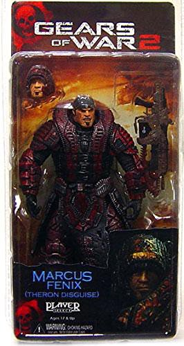 Neca Toys Action Figure - Gears of War 2 Series 4 - MARCUS FENIX (Theron Disguise) (7 inch)