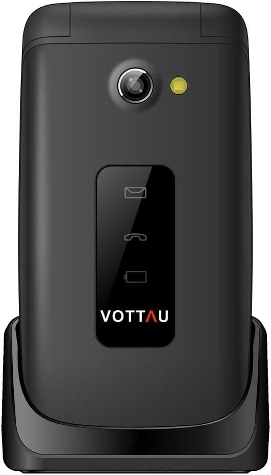 Teléfonos móviles para Mayores, VOTTAU E16 Banda Dual gsm Teléfono ...